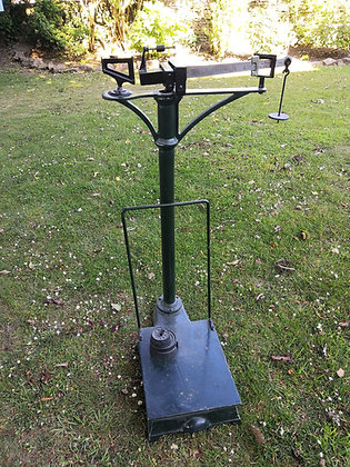 Parcel Weighing Scales (with weights)