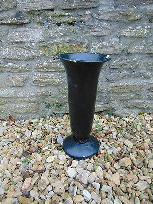 Black Florist Vase