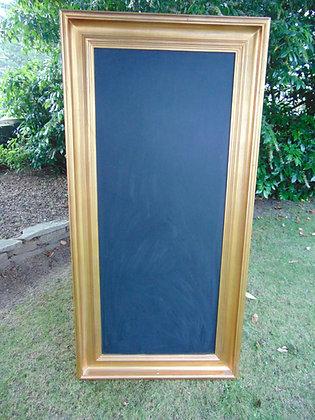 Large Gold Blackboard