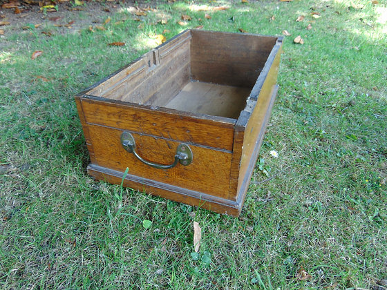 Narrow Wooden Drawer