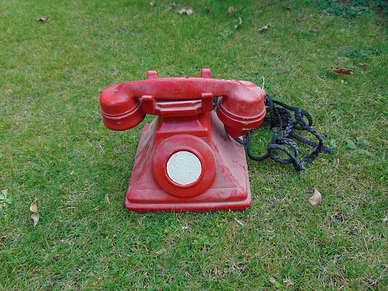 1940's Style Red Telephones
