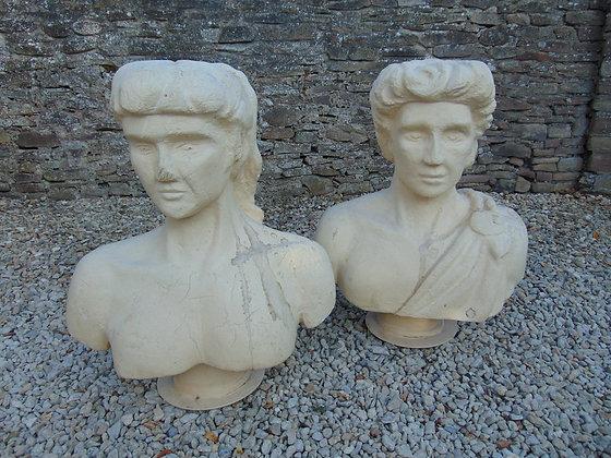 Grecian Busts - Polystyrene