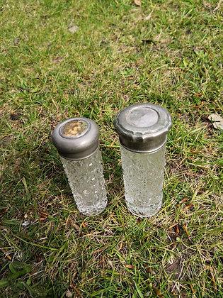 Hat Pin Glass Bottles