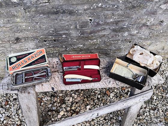 Vintage Shaving Sets