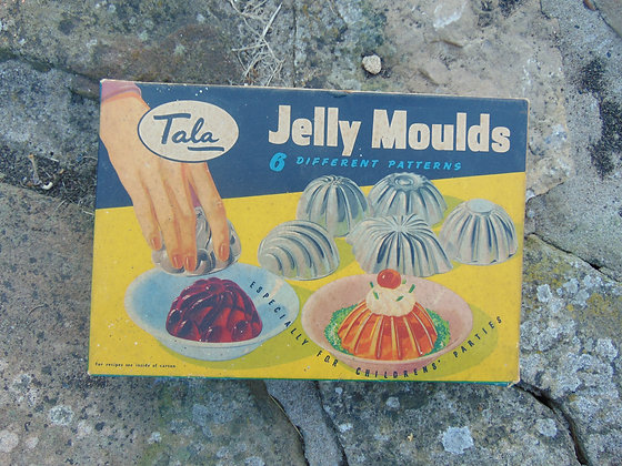 Jelly Moulds in Original Box