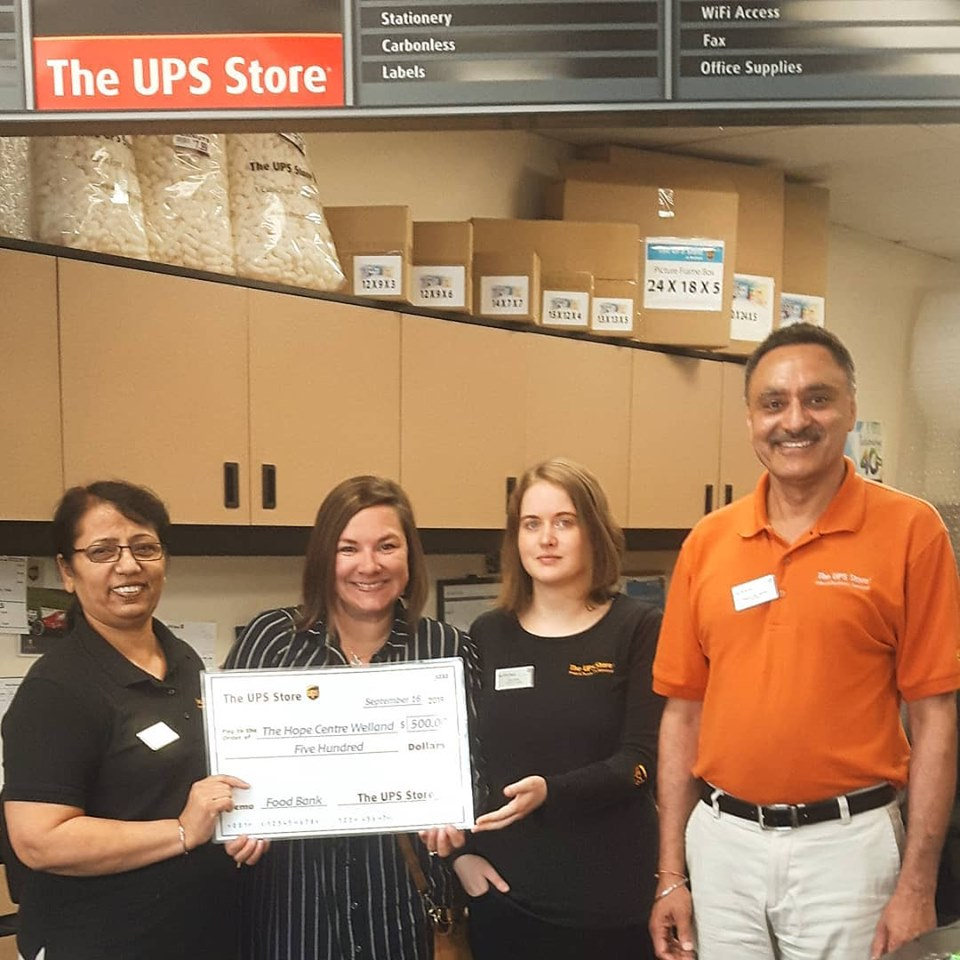 UPS Donation