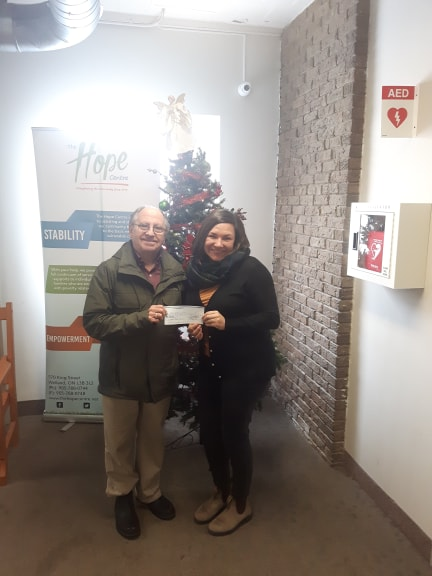 Kiwanis donation