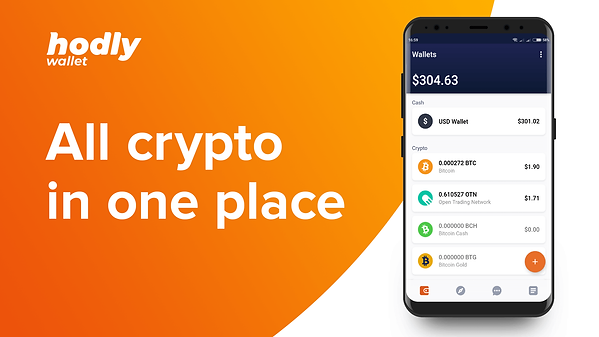HODLY is an app that allows you to buy, sell, and store your crypto.