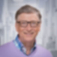 Bill Gates holds bitcoin.
