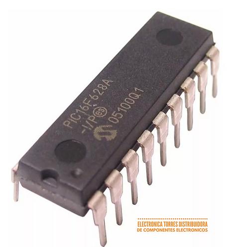 Microcontrolador Microchip Pic16f628