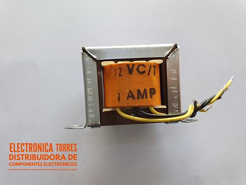 Transformador 12v 1 amp