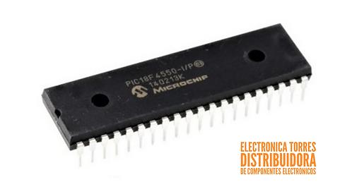 Microcontrolador Microchip Pic18f4550