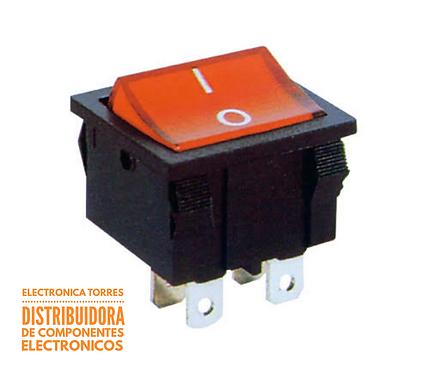 Switch de balancin 20 Amp 125 v