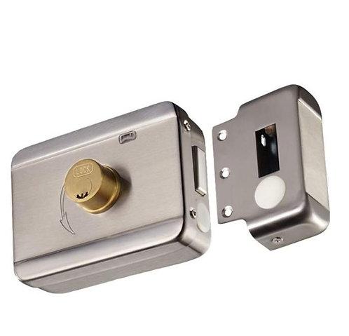 YLI ABK703BS - Cerradura inteligente anti impacto cuenta con juego de 2 llaves,