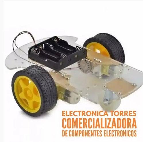 kit de carrito robot con chasis