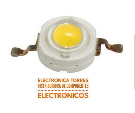 Led de potencia blanco calido 3W