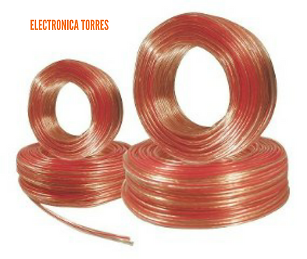 Rollo de cable duplex 100mt