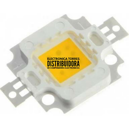 Led de potencia COB blanco calido 10w