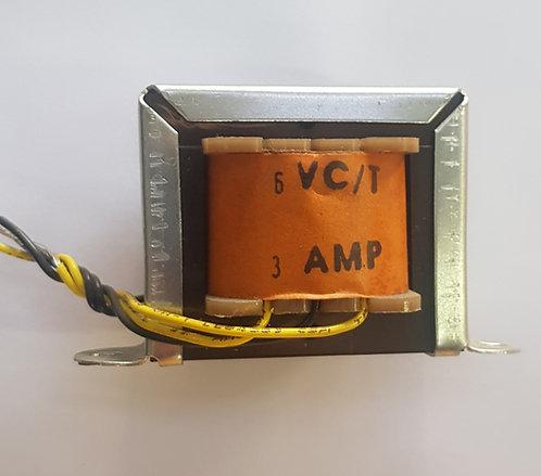 Transformador 6v 3 amp Ac 115v