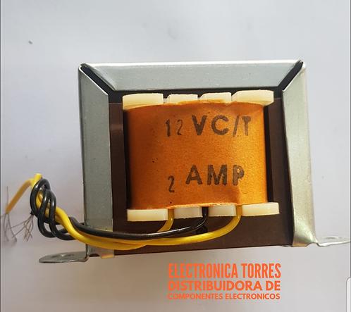 Transformador 12v 2 amp AC