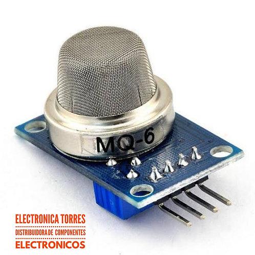 Modulo sensor de gas MQ6