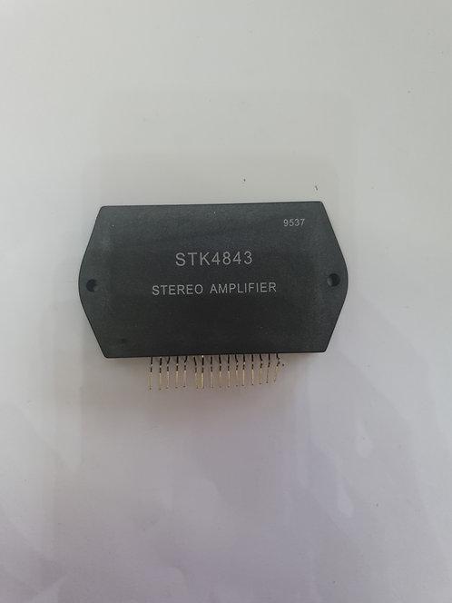 STK4843 Circuito Modulo fuente/audio 30w