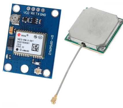 Modulo GPS ublox NEO-6m con eprom