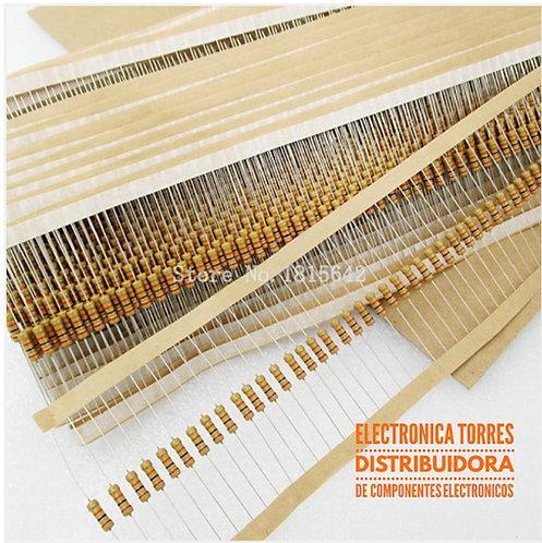 Resistencia 1M 1/2 watt (3 piezas)