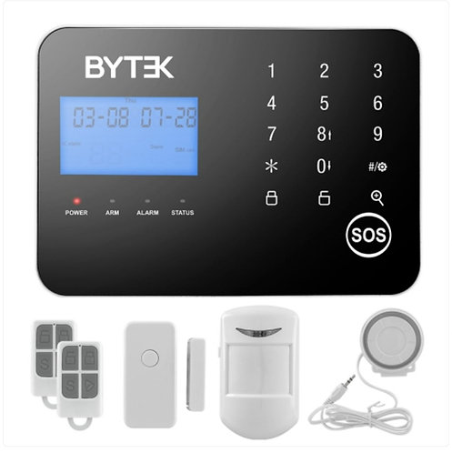 Alarma Byteck Gsm y linea telefonica