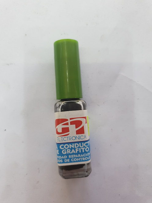 Tinta conductora de grafito para reparacion de pistas