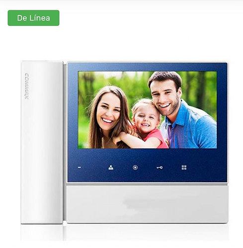 COMMAX CDV70N2 - Monitor para videoportero a color de 7 pulgadas con auricular