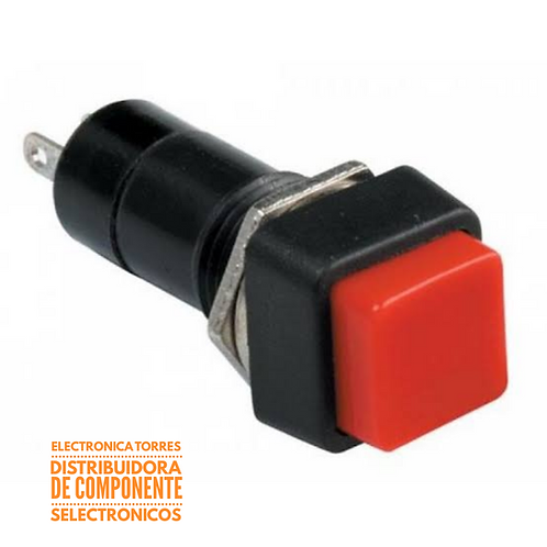 Switch de boton  3 amp 125v