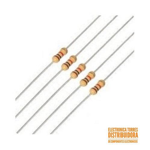 Resistencia 1.8 ohms 1/2watt (3 piezas)