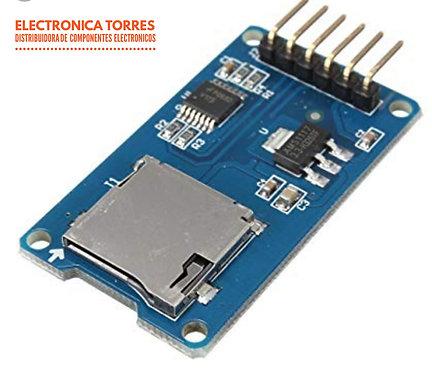 Modulo para memoria micro sd