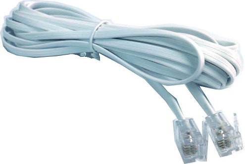 Cable telefonico  4 mt /  cable plano