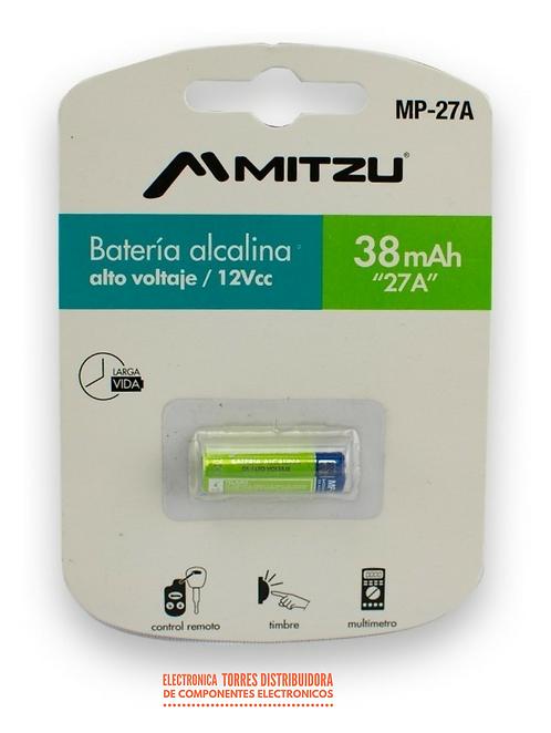 Bateria alcalina 12v 27a