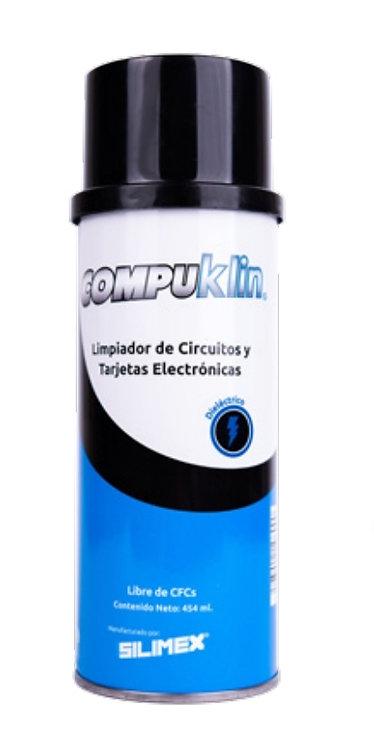 Compuklin limpiador para tarjetas electronicas 454ml