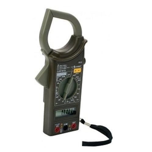 Multimetro digital de gancho mul-100