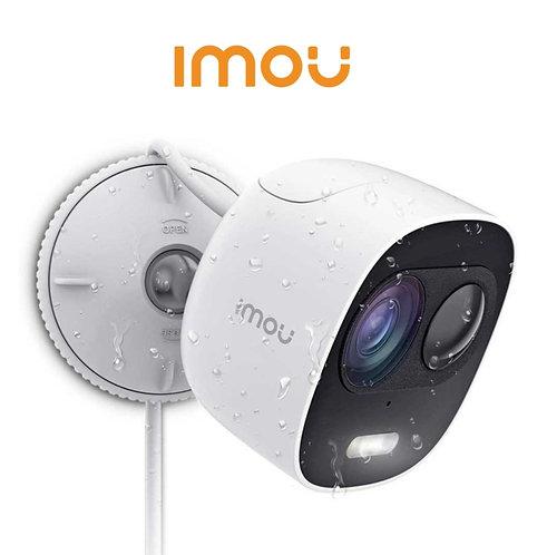 IMOU LOOC- Camara ip bulet wifi 2mp/2.8mm / sirena y luz compatible con Alexa