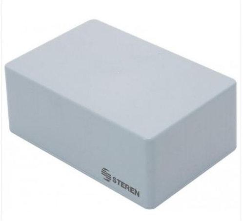 Gabinete de plástico para protección de proyectos electrónicos. Mide 15 x 9,9 x