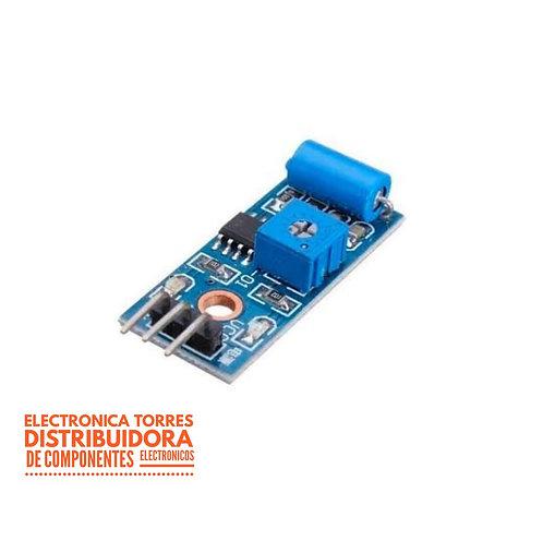 Modulo sensor de vibracion SW-420