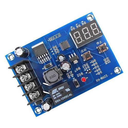 Modulo control d3 carga 12 a 24v baterias Xh-m603
