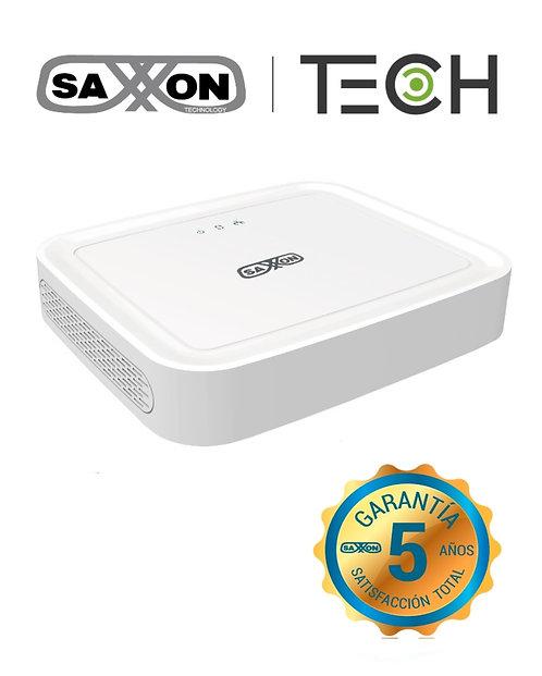 SAXXON TECH Z8304XECS - DVR 4 Canales HDCVI pentahibrido 1080p Lite / H264 / HD