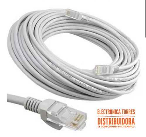 Cable de red UTP cat 5 e (30metros)