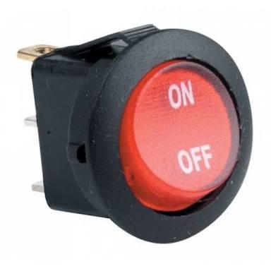 Switch balancin redondo 125v
