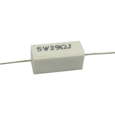 Copia de Resistencia 39 ohms 5 watt