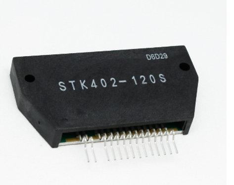 Stk402-120s circuito AMPLIFICADOR DE AUDIO 2X80W