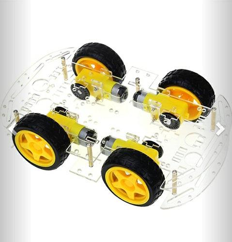 Carro robot 4 llantas