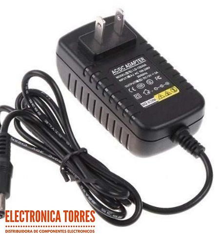 Eliminador 12v 1amp plug 2.1mm Arduino