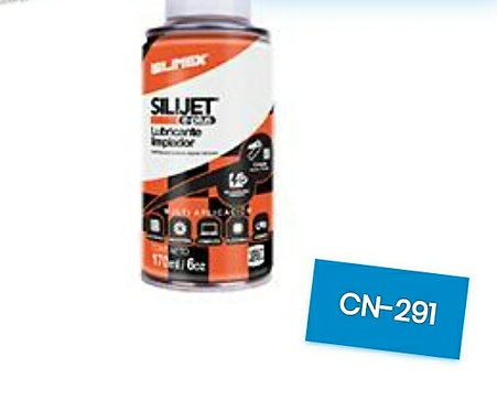 Limpiador y lubricante con silicon silimex SILIJET E PLUS